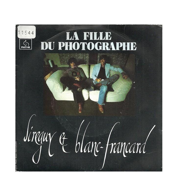 "Sireguy* Et Blanc-Francard* - La Fille Du Photographe (7"", Single) mesvinyles.fr"