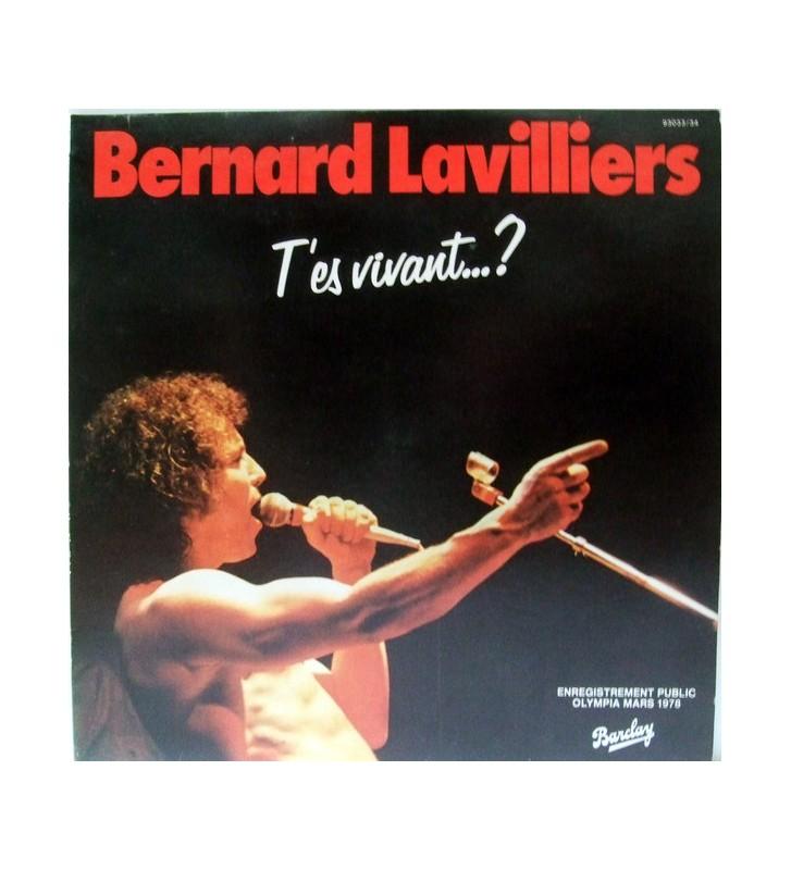 Bernard Lavilliers - T'Es Vivant...? (Live Olympia 1978) (2xLP) mesvinyles.fr