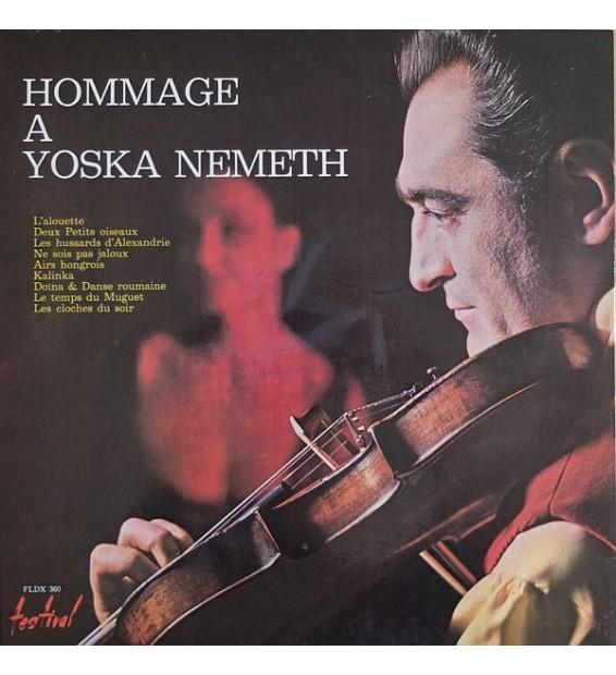 Yoska Nemeth Prince Des Tziganes Et Son Orchestre* - Hommage A Yoska Nemeth (LP, Album, Gat)
