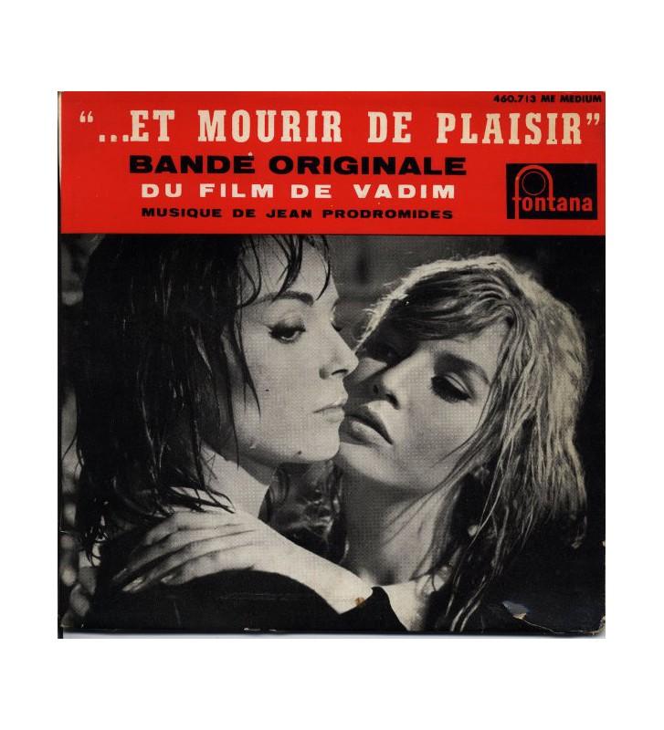 """Jean Prodromides* - ...Et Mourir De Plaisir  (7"""", EP) mesvinyles.fr"""
