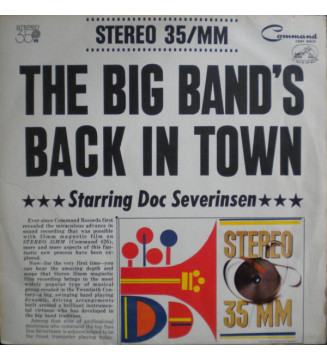 The Big Band's Back In Town Starring Doc Severinsen - The Big Band's Back In Town (LP, Album) mesvinyles.fr