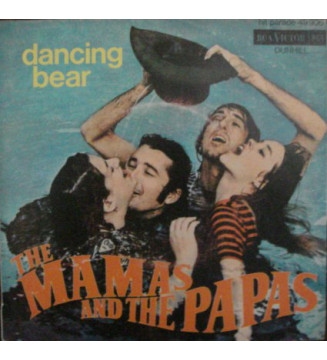 "The Mamas & The Papas - Dancing Bear / John's Music Box (7"", Single) mesvinyles.fr"