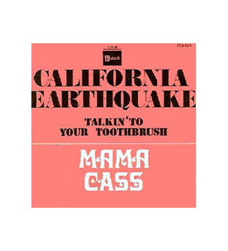 "Mama Cass* - California Earthquake (7"", Single) mesvinyles.fr"