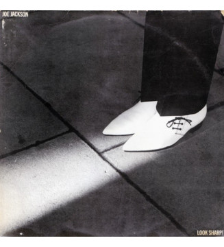 Joe Jackson - Look Sharp! (LP, Album, RE)