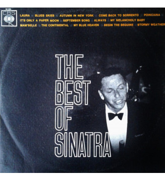 Frank Sinatra - The Best Of Sinatra (LP, Comp)