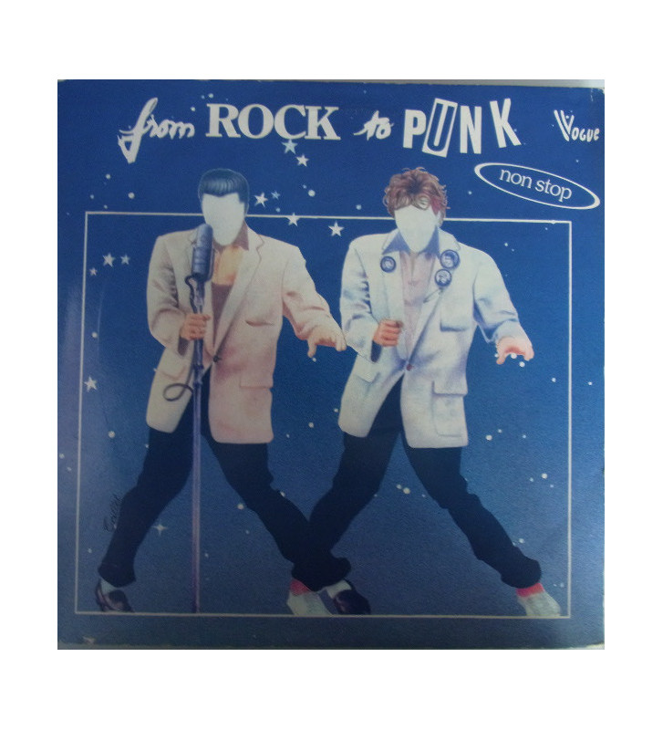 Various - From Rock To Punk (2xLP, Comp) mesvinyles.fr