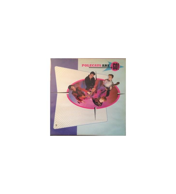 Polecats* - Polecats Are Go! (LP, Album) mesvinyles.fr