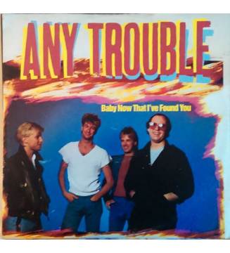 """Any Trouble - Baby Now That I've Found You (12"""") mesvinyles.fr"""