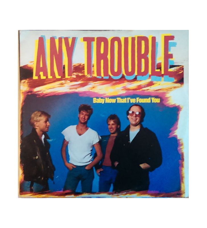 "Any Trouble - Baby Now That I've Found You (12"") mesvinyles.fr"