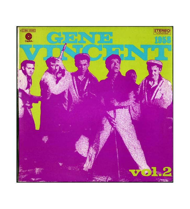 Gene Vincent - Gene Vincent Story Vol. 2 (LP, Comp) mesvinyles.fr