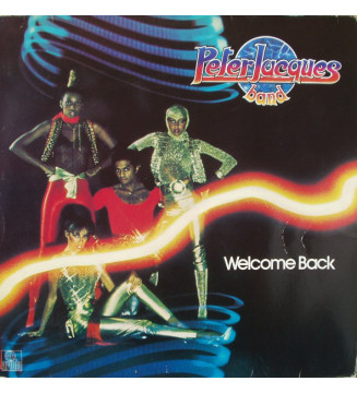 Peter Jacques Band - Welcome Back (LP, Album) mesvinyles.fr