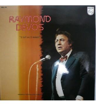 Raymond Devos - À Tort Ou À Raison (LP, Album) mesvinyles.fr