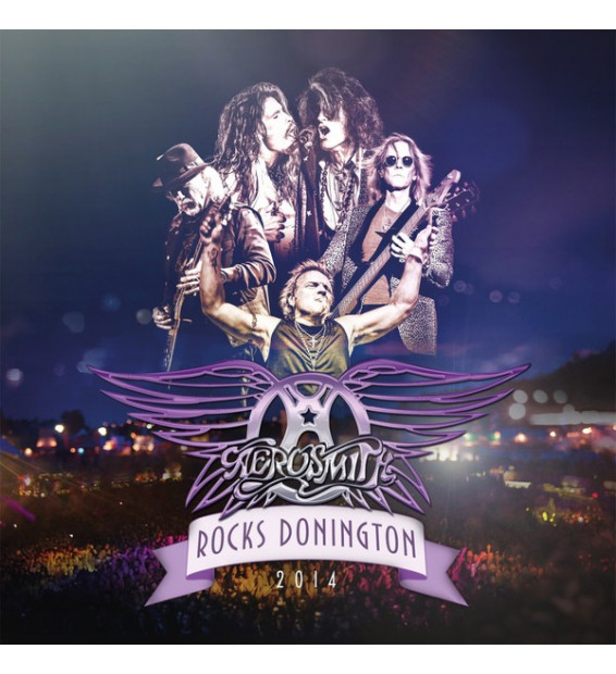 Aerosmith - Rocks Donington 2014 (3xLP, Album, 180 + DVD-V, NTSC)