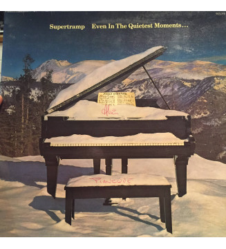Supertramp - Even In The Quietest Moments... (LP, Album, Gat)