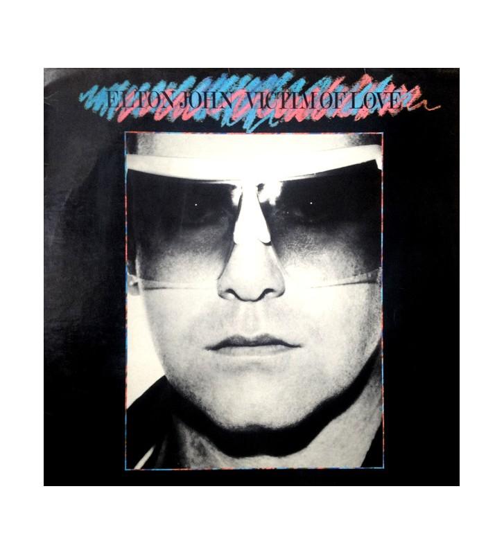 Elton John - Victim Of Love (LP, Album) mesvinyles.fr