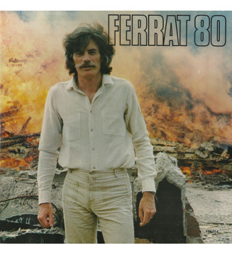 Ferrat* - Ferrat 80 (LP, Album) mesvinyles.fr