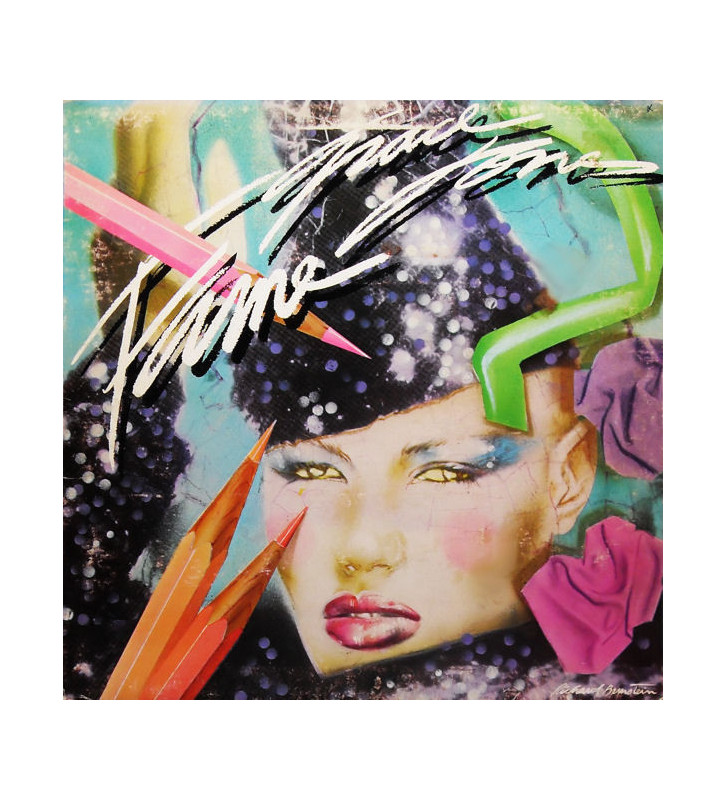 Grace Jones - Fame (LP, Album, P/Mixed, Gat) mesvinyles.fr