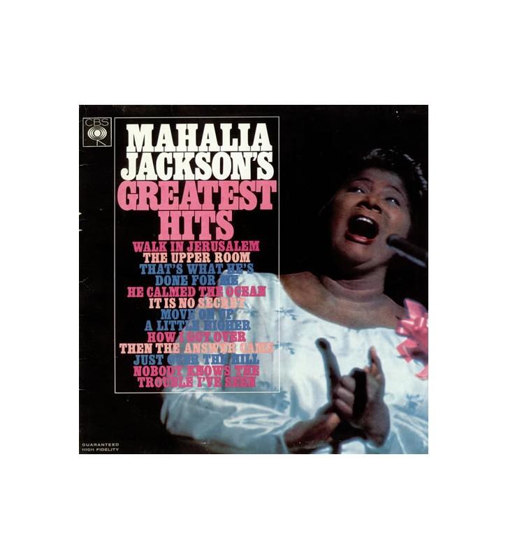 Mahalia Jackson - Mahalia Jackson's Greatest Hits (LP, Comp, RE) mesvinyles.fr
