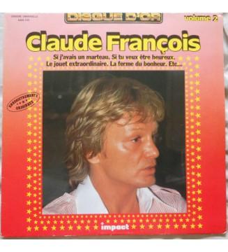 Claude François - Volume 2 (LP, Comp) mesvinyles.fr