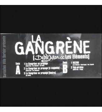 """Deblë Men / Les Elements - La Gangrène (12"""") mesvinyles.fr"""