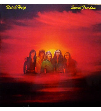 Uriah Heep - Sweet Freedom (LP, Album, Gat) mesvinyles.fr