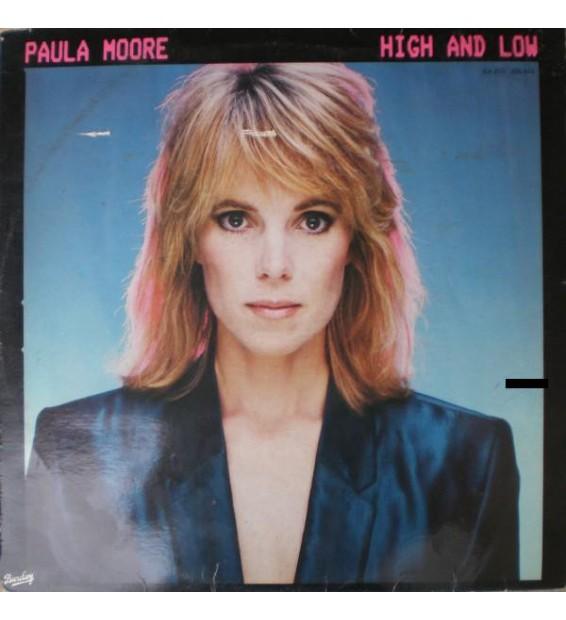 Paula Moore - High And Low (LP, Album) mesvinyles.fr