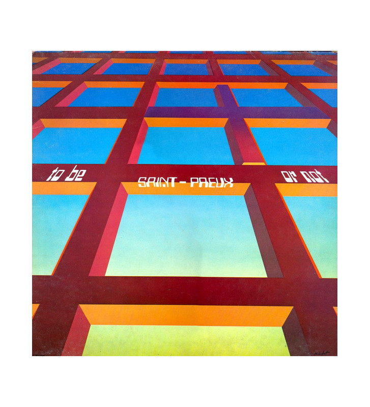 Saint-Preux - To Be Or Not (LP, Album) mesvinyles.fr