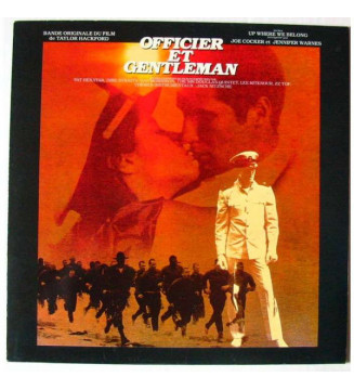 Various - Officier Et Gentleman, Bande Originale Du Film De Taylor Hackford (LP, Comp) mesvinyles.fr