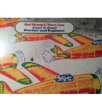 Rod Stewart / Faces (3) - Live Coast To Coast  - Overture And Beginners (LP, Album) mesvinyles.fr