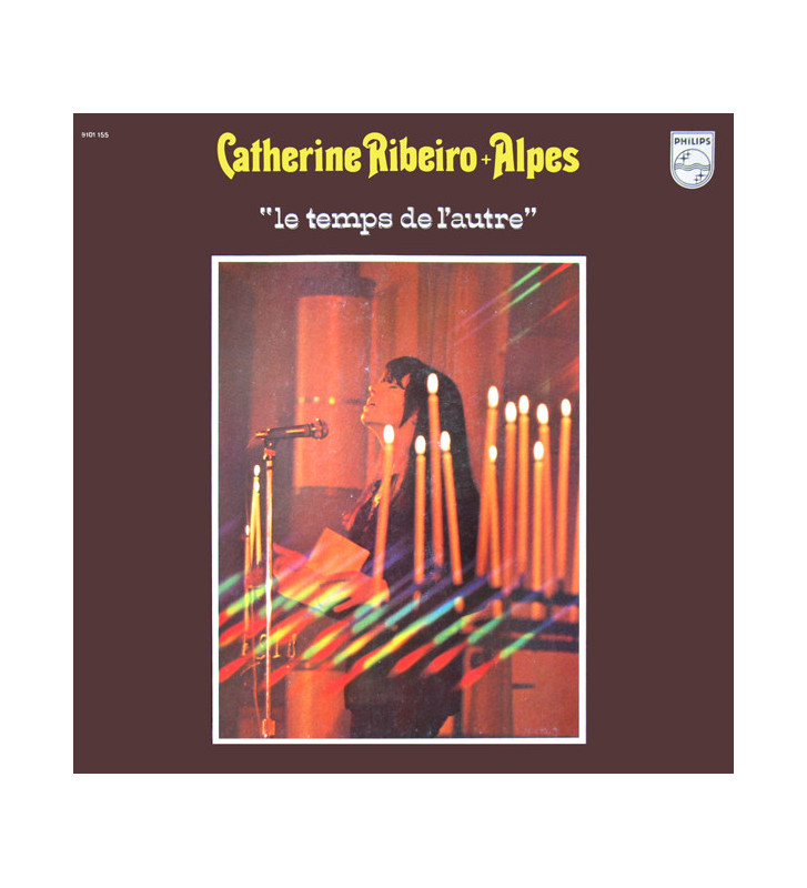 Catherine Ribeiro + Alpes - Le Temps De L'autre (LP, Album, RE, Gat) mesvinyles.fr