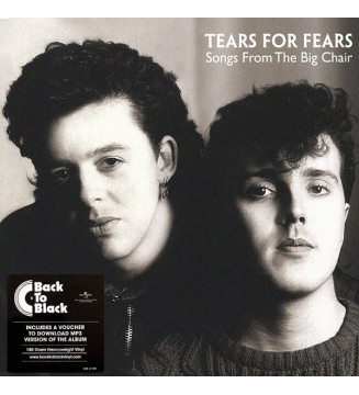 Tears For Fears - Songs From The Big Chair  (LP, Album, RE, 180) mesvinyles.fr