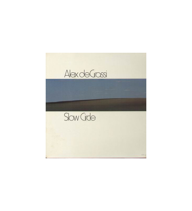 Alex De Grassi - Slow Circle (LP, Album, RE) mesvinyles.fr