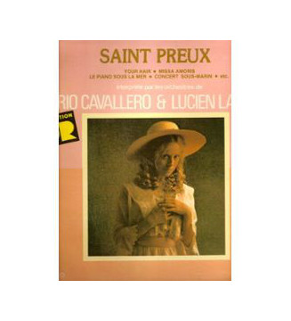 Saint-Preux - Untitled (LP, Comp)