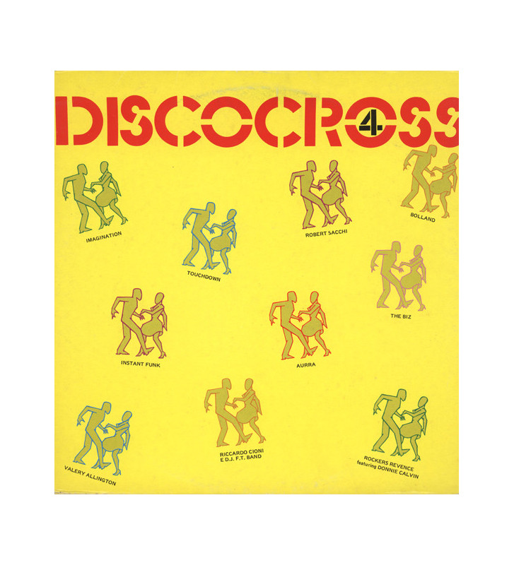 Various - Discocross No. 4 (LP, Mixed) mesvinyles.fr