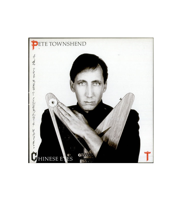 Pete Townshend - All The Best Cowboys Have Chinese Eyes (LP, Album) mesvinyles.fr