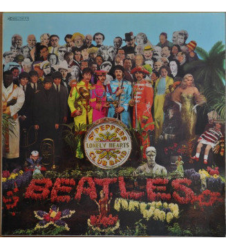 The Beatles - Sgt. Pepper's Lonely Hearts Club Band (LP, Album, RE, Gat)