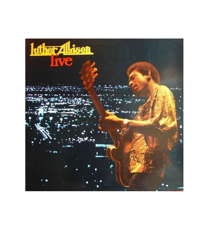 Luther Allison - Live (LP, Album) mesvinyles.fr