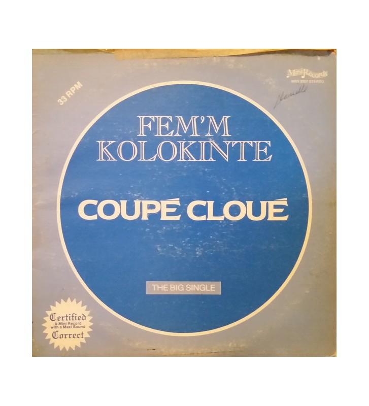 "Coupé Cloué - Fem'm Kolokinte (12"") mesvinyles.fr"