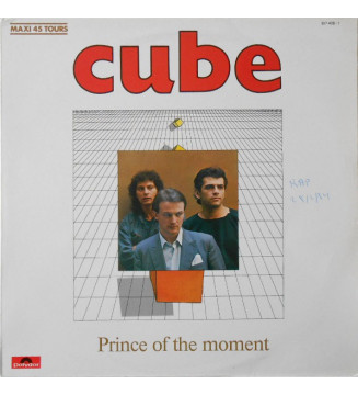 """Cube (2) - Prince Of The Moment (12"""", Maxi) mesvinyles.fr"""