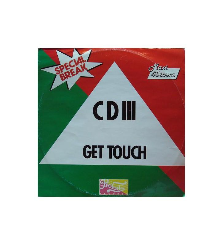 """CD III - Get Tough (12"""", Maxi) mesvinyles.fr"""