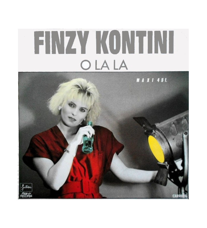 """Finzy Kontini - O La La (12"""", Maxi) mesvinyles.fr"""