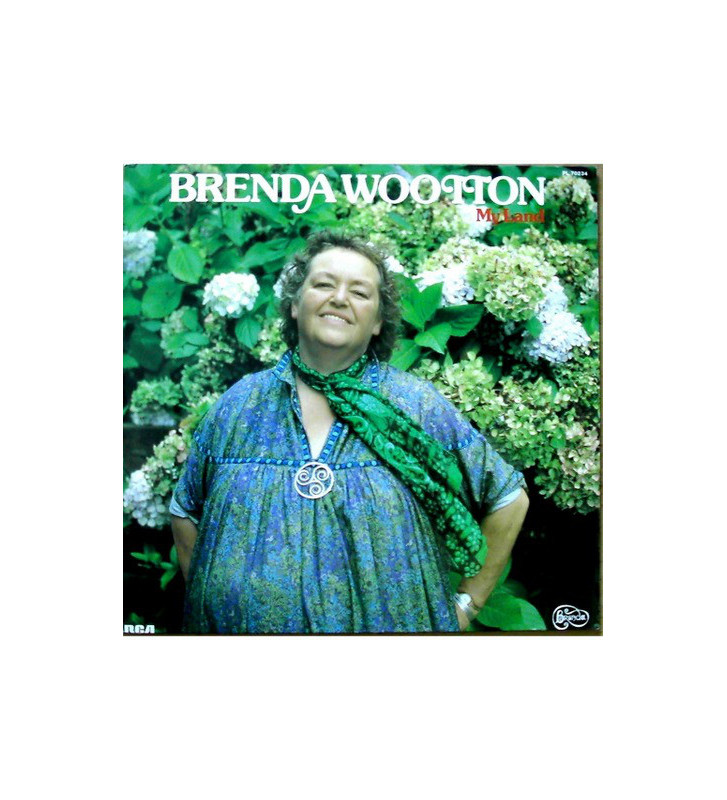 Brenda Wootton - My Land (LP, Album) mesvinyles.fr