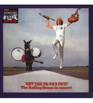 The Rolling Stones - Get Yer Ya-Ya's Out! - The Rolling Stones In Concert (LP, Album, RE, RM)