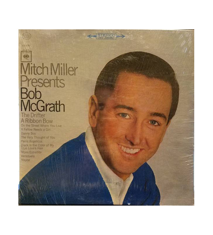 Bob McGrath - Mitch Miller Presents Bob McGrath (LP) mesvinyles.fr