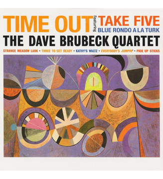 The Dave Brubeck Quartet - Time Out (LP, Album, RE, 180) mesvinyles.fr