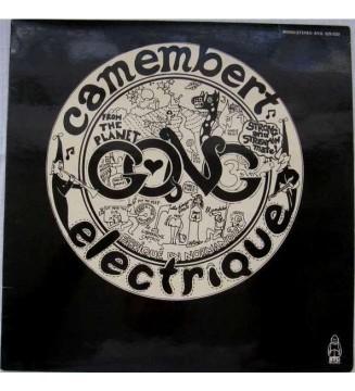 Gong - Camembert Electrique (LP, Album, RP, Sin) mesvinyles.fr