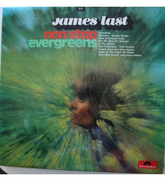 James Last - Non Stop Evergreens (LP) mesvinyles.fr