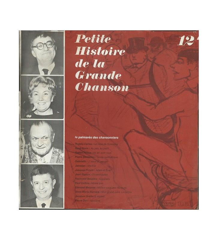 Various - Petite Histoire De La Grande Chanson - Disque 12 - Le Palmarès Des Chansonniers (LP, Comp) mesvinyles.fr