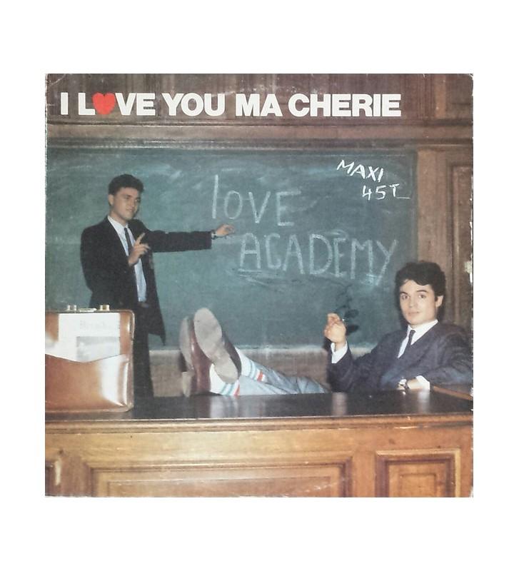 """Love Academy - I Love You Ma Chérie (12"""") mesvinyles.fr"""