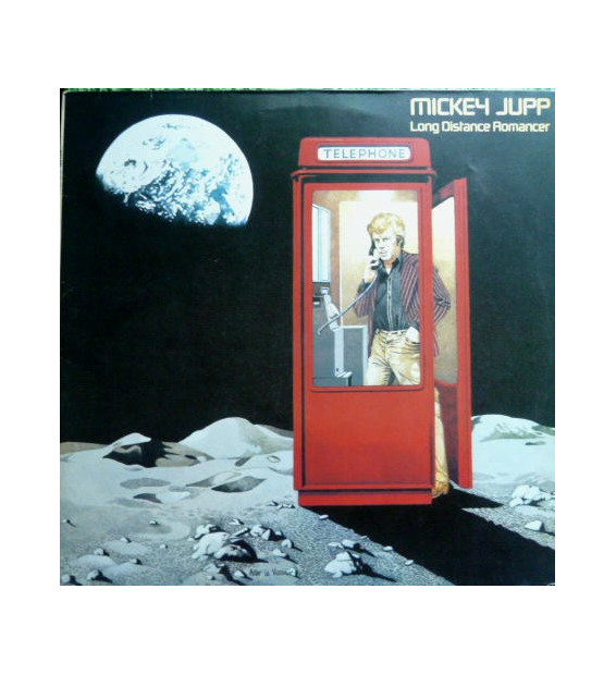 Mickey Jupp - Long Distance Romancer (LP, Album)